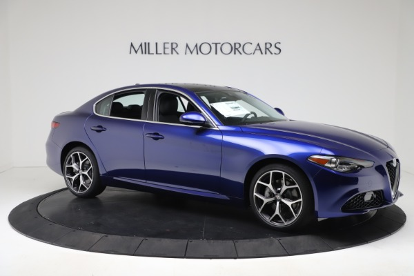 New 2020 Alfa Romeo Giulia Ti Q4 for sale $49,245 at Bentley Greenwich in Greenwich CT 06830 10