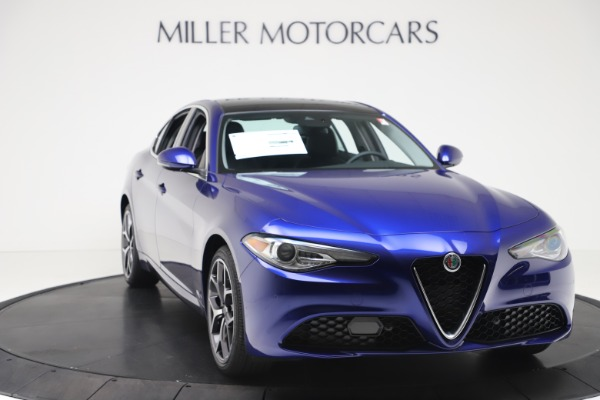 New 2020 Alfa Romeo Giulia Ti Q4 for sale $49,245 at Bentley Greenwich in Greenwich CT 06830 11