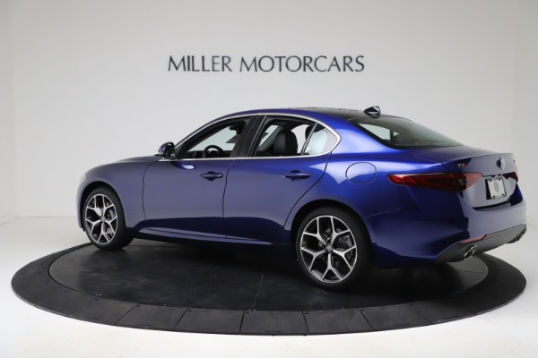 New 2020 Alfa Romeo Giulia Ti Q4 for sale $49,245 at Bentley Greenwich in Greenwich CT 06830 4