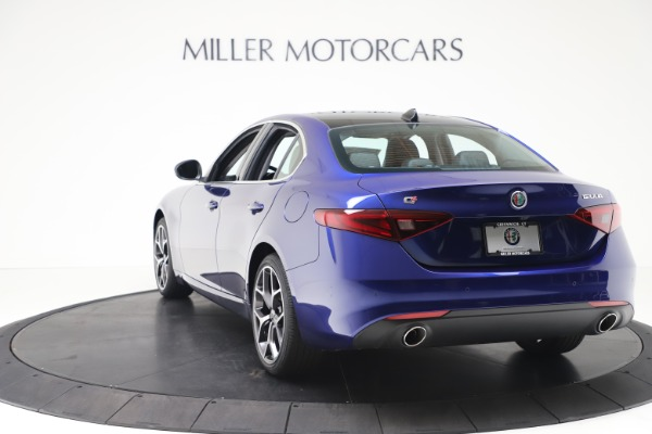 New 2020 Alfa Romeo Giulia Ti Q4 for sale $49,245 at Bentley Greenwich in Greenwich CT 06830 5