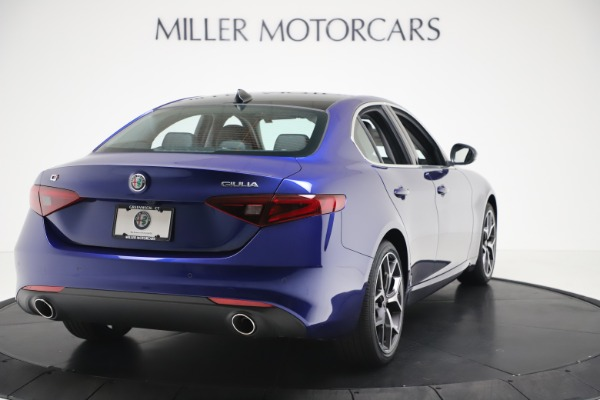 New 2020 Alfa Romeo Giulia Ti Q4 for sale $49,245 at Bentley Greenwich in Greenwich CT 06830 7