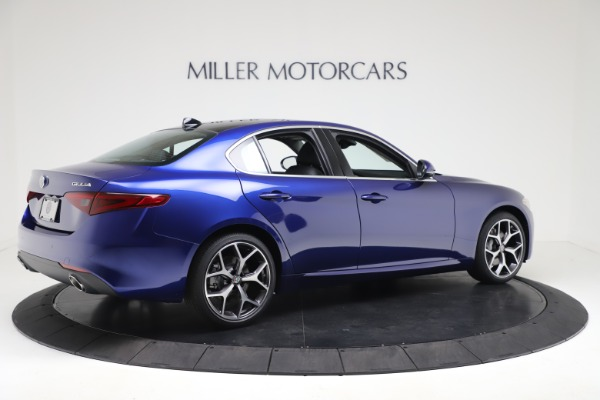 New 2020 Alfa Romeo Giulia Ti Q4 for sale $49,245 at Bentley Greenwich in Greenwich CT 06830 8