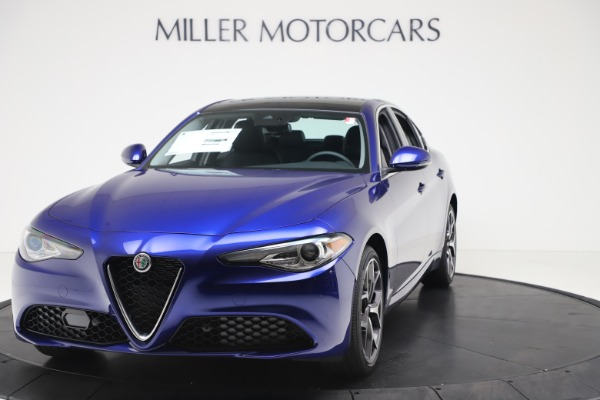 New 2020 Alfa Romeo Giulia Ti Q4 for sale $49,245 at Bentley Greenwich in Greenwich CT 06830 1