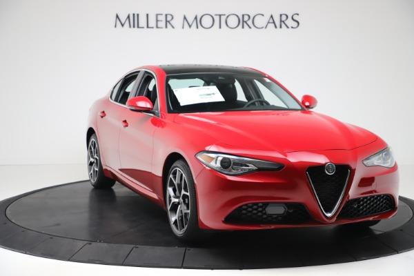 New 2020 Alfa Romeo Giulia Ti Q4 for sale $42,745 at Bentley Greenwich in Greenwich CT 06830 10