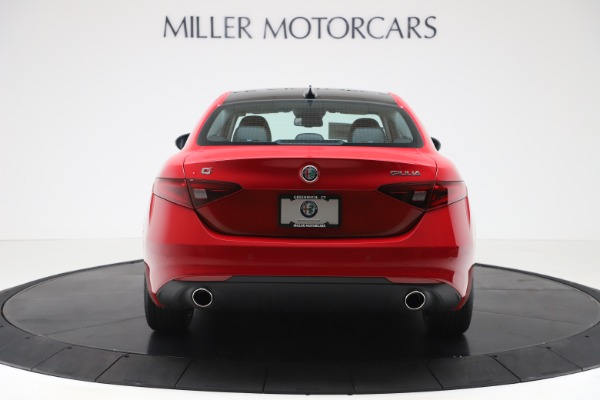New 2020 Alfa Romeo Giulia Ti Q4 for sale $42,745 at Bentley Greenwich in Greenwich CT 06830 6