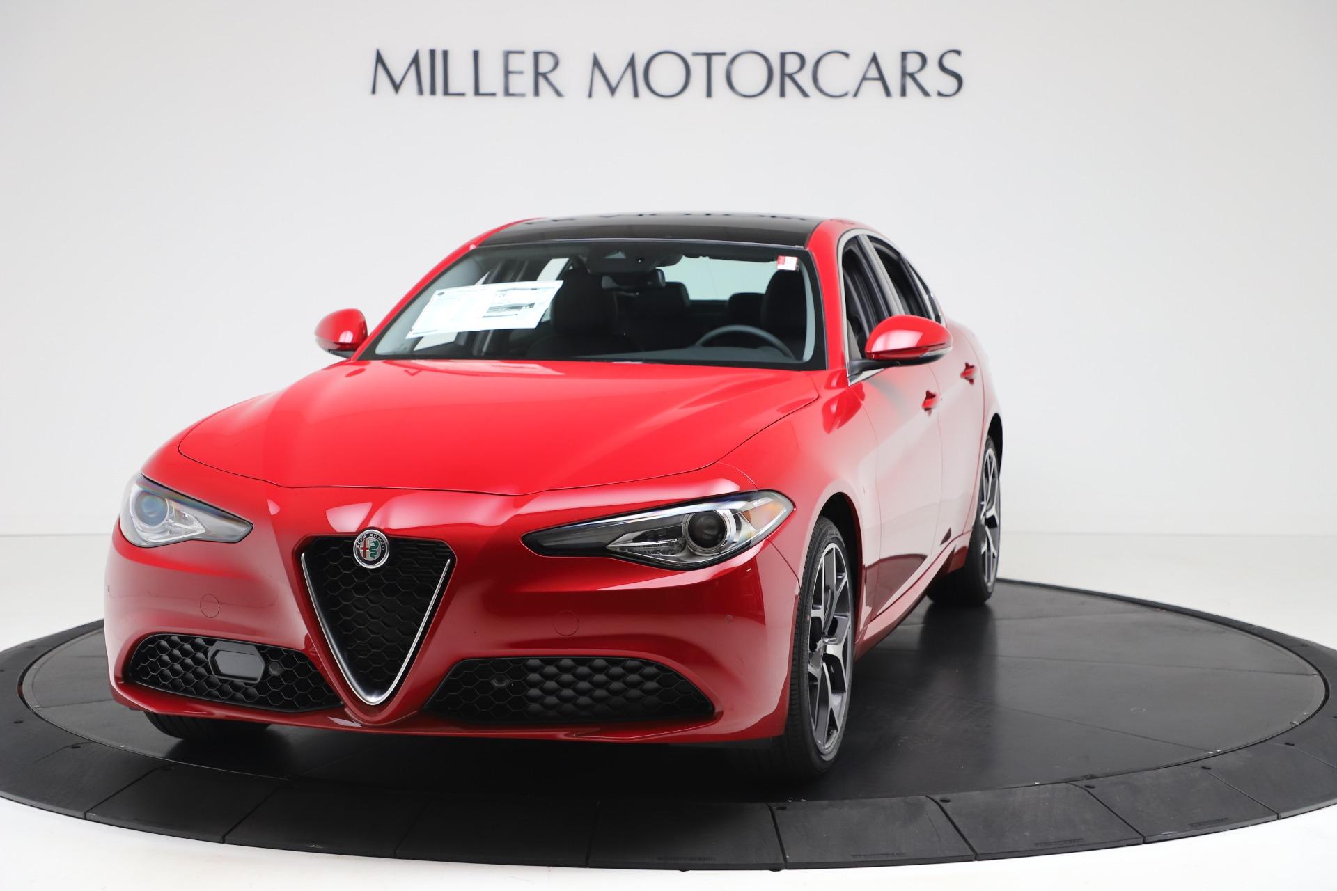 New 2020 Alfa Romeo Giulia Ti Q4 for sale $42,745 at Bentley Greenwich in Greenwich CT 06830 1