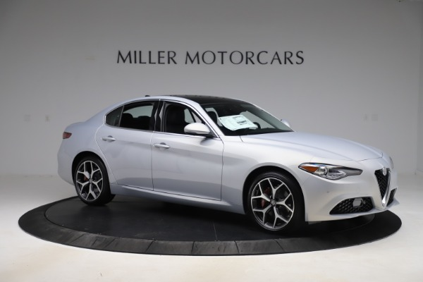 New 2020 Alfa Romeo Giulia Ti Q4 for sale $52,345 at Bentley Greenwich in Greenwich CT 06830 10