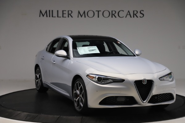 New 2020 Alfa Romeo Giulia Ti Q4 for sale $52,345 at Bentley Greenwich in Greenwich CT 06830 11