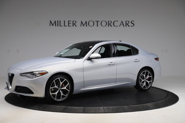New 2020 Alfa Romeo Giulia Ti Q4 for sale $52,345 at Bentley Greenwich in Greenwich CT 06830 2