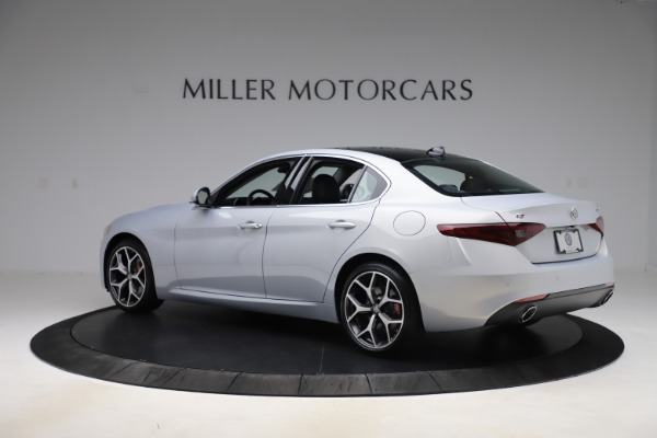 New 2020 Alfa Romeo Giulia Ti Q4 for sale $52,345 at Bentley Greenwich in Greenwich CT 06830 4