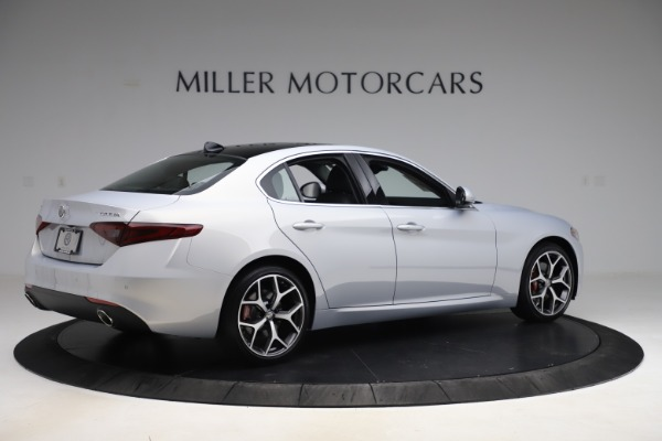 New 2020 Alfa Romeo Giulia Ti Q4 for sale $52,345 at Bentley Greenwich in Greenwich CT 06830 8