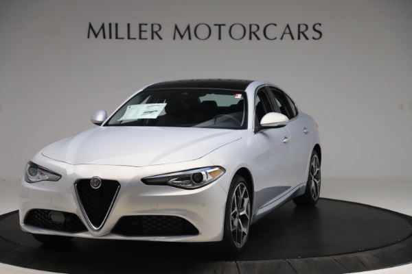 New 2020 Alfa Romeo Giulia Ti Q4 for sale $52,345 at Bentley Greenwich in Greenwich CT 06830 1