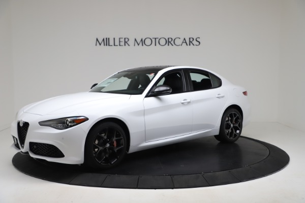 New 2020 Alfa Romeo Giulia Sport Q4 for sale $49,145 at Bentley Greenwich in Greenwich CT 06830 2