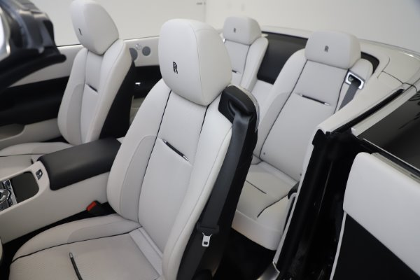 Used 2017 Rolls-Royce Dawn Base for sale Call for price at Bentley Greenwich in Greenwich CT 06830 18