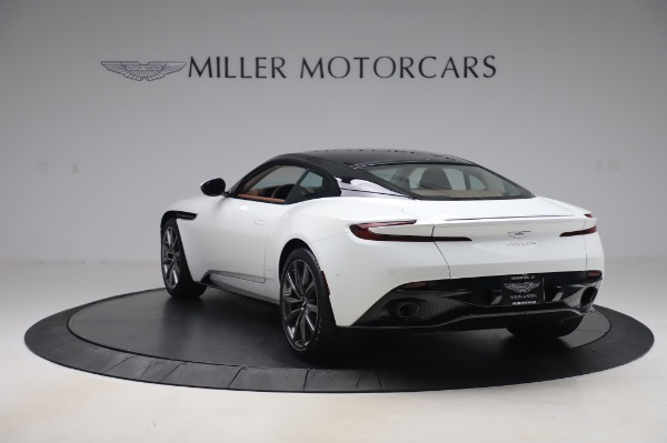 New 2020 Aston Martin DB11 V8 for sale $233,266 at Bentley Greenwich in Greenwich CT 06830 4