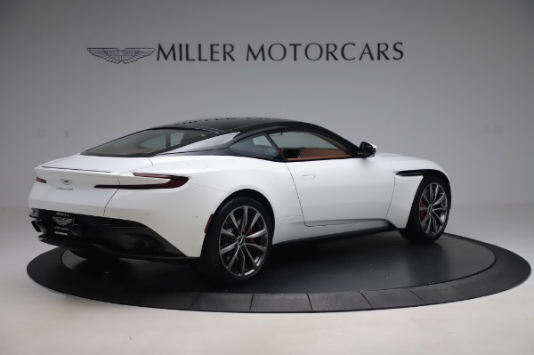 New 2020 Aston Martin DB11 V8 for sale $233,266 at Bentley Greenwich in Greenwich CT 06830 7