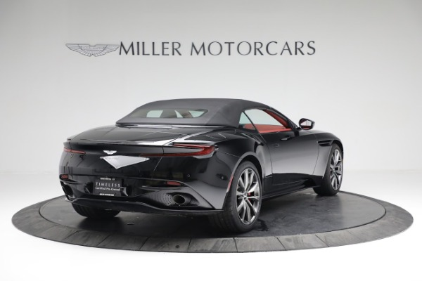 New 2020 Aston Martin DB11 Volante Convertible for sale $247,386 at Bentley Greenwich in Greenwich CT 06830 17