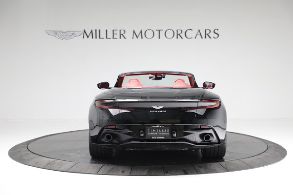 New 2020 Aston Martin DB11 Volante Convertible for sale $247,386 at Bentley Greenwich in Greenwich CT 06830 6