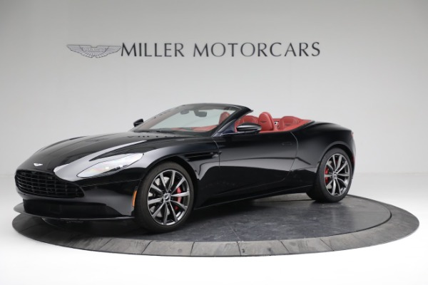 New 2020 Aston Martin DB11 Volante Convertible for sale $247,386 at Bentley Greenwich in Greenwich CT 06830 1