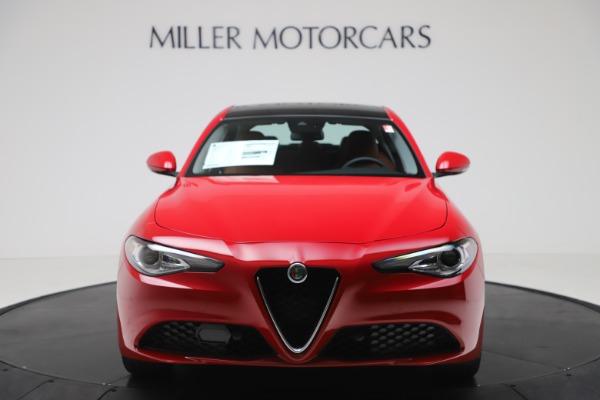 New 2020 Alfa Romeo Giulia Q4 for sale $46,395 at Bentley Greenwich in Greenwich CT 06830 12