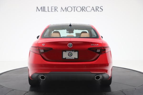 New 2020 Alfa Romeo Giulia Q4 for sale $46,395 at Bentley Greenwich in Greenwich CT 06830 6