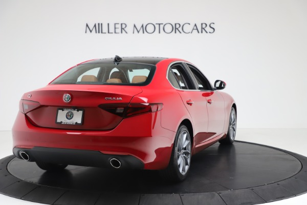 New 2020 Alfa Romeo Giulia Q4 for sale $46,395 at Bentley Greenwich in Greenwich CT 06830 7