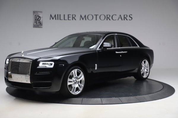 Used 2015 Rolls-Royce Ghost Base for sale Call for price at Bentley Greenwich in Greenwich CT 06830 3