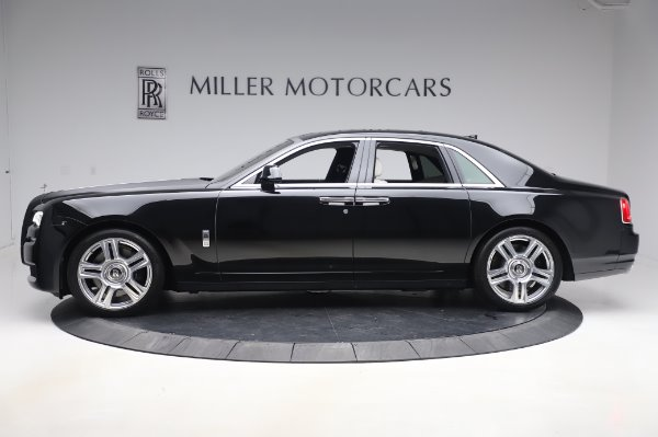 Used 2015 Rolls-Royce Ghost Base for sale Call for price at Bentley Greenwich in Greenwich CT 06830 4
