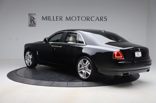 Used 2015 Rolls-Royce Ghost Base for sale Call for price at Bentley Greenwich in Greenwich CT 06830 5