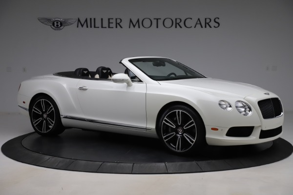 Used 2014 Bentley Continental GTC V8 for sale $109,900 at Bentley Greenwich in Greenwich CT 06830 10