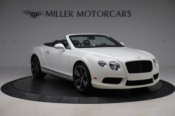 Used 2014 Bentley Continental GTC V8 for sale $109,900 at Bentley Greenwich in Greenwich CT 06830 11