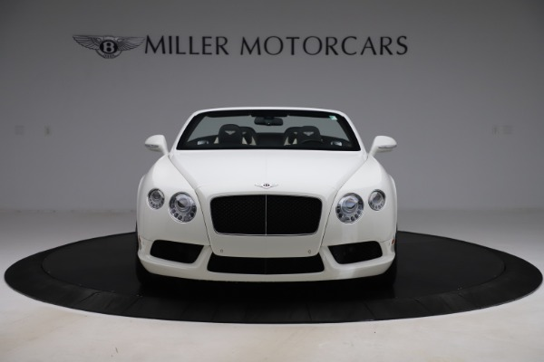 Used 2014 Bentley Continental GTC V8 for sale $109,900 at Bentley Greenwich in Greenwich CT 06830 12
