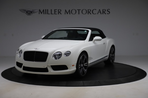 Used 2014 Bentley Continental GTC V8 for sale $109,900 at Bentley Greenwich in Greenwich CT 06830 13