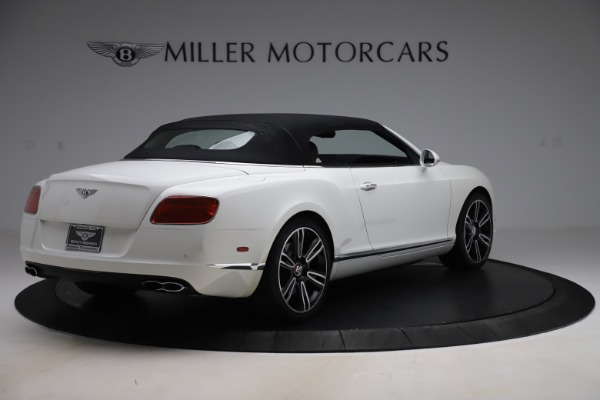 Used 2014 Bentley Continental GT Convertible V8 for sale $106,900 at Bentley Greenwich in Greenwich CT 06830 16