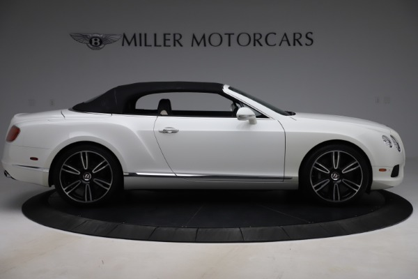 Used 2014 Bentley Continental GT Convertible V8 for sale $106,900 at Bentley Greenwich in Greenwich CT 06830 17