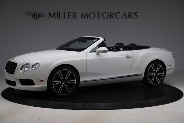 Used 2014 Bentley Continental GT Convertible V8 for sale $106,900 at Bentley Greenwich in Greenwich CT 06830 2