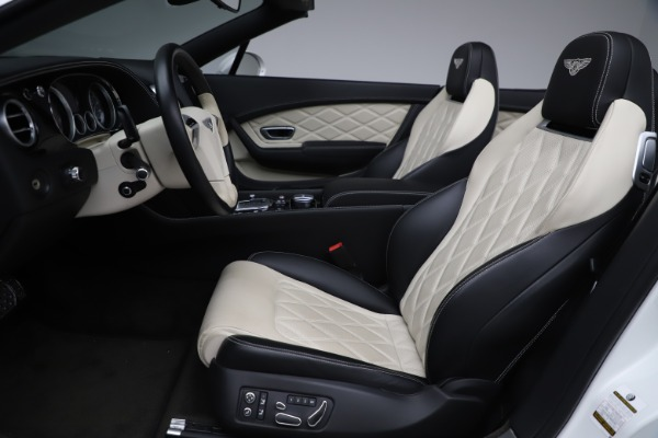 Used 2014 Bentley Continental GT Convertible V8 for sale $106,900 at Bentley Greenwich in Greenwich CT 06830 27