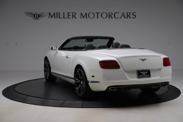 Used 2014 Bentley Continental GT Convertible V8 for sale $106,900 at Bentley Greenwich in Greenwich CT 06830 5