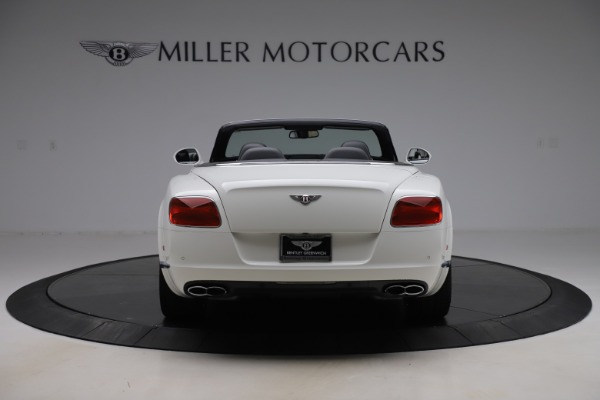 Used 2014 Bentley Continental GTC V8 for sale $109,900 at Bentley Greenwich in Greenwich CT 06830 6