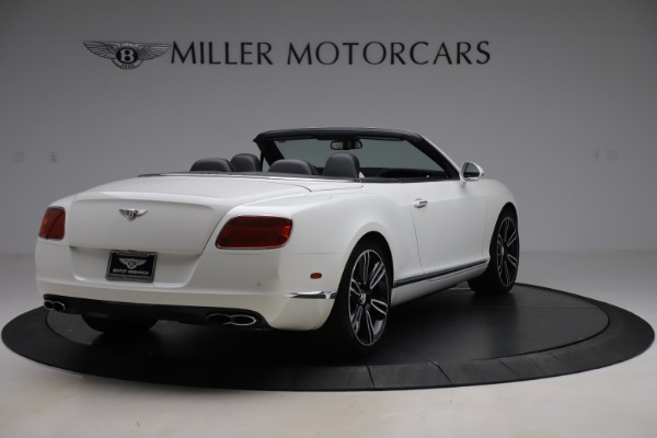 Used 2014 Bentley Continental GTC V8 for sale $109,900 at Bentley Greenwich in Greenwich CT 06830 7