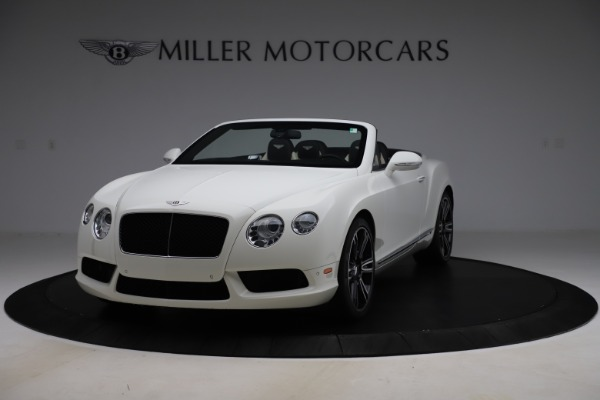 Used 2014 Bentley Continental GT Convertible V8 for sale $106,900 at Bentley Greenwich in Greenwich CT 06830 1