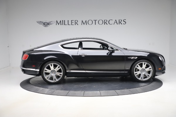 Used 2016 Bentley Continental GT W12 for sale $124,900 at Bentley Greenwich in Greenwich CT 06830 9