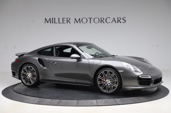 Used 2015 Porsche 911 Turbo for sale $123,900 at Bentley Greenwich in Greenwich CT 06830 10