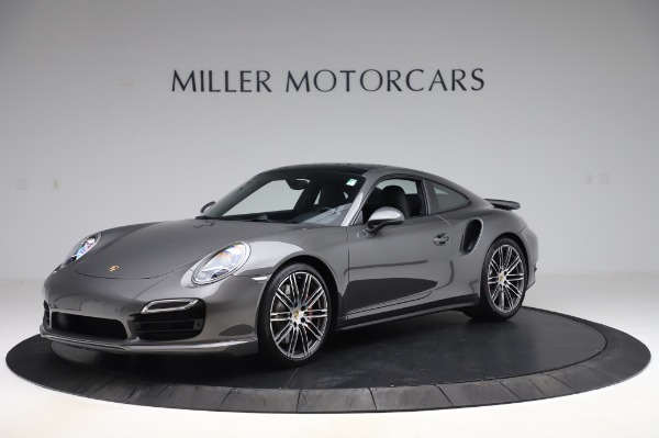 Used 2015 Porsche 911 Turbo for sale $123,900 at Bentley Greenwich in Greenwich CT 06830 2