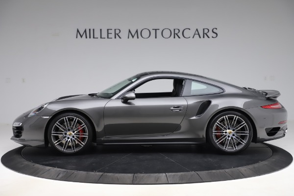 Used 2015 Porsche 911 Turbo for sale $123,900 at Bentley Greenwich in Greenwich CT 06830 3