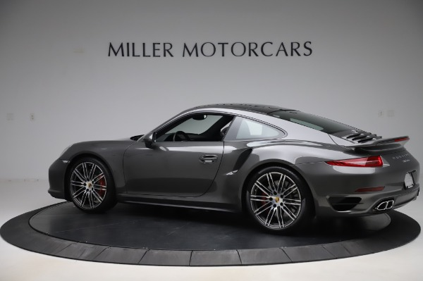 Used 2015 Porsche 911 Turbo for sale $123,900 at Bentley Greenwich in Greenwich CT 06830 4