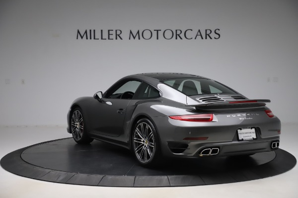 Used 2015 Porsche 911 Turbo for sale $123,900 at Bentley Greenwich in Greenwich CT 06830 5