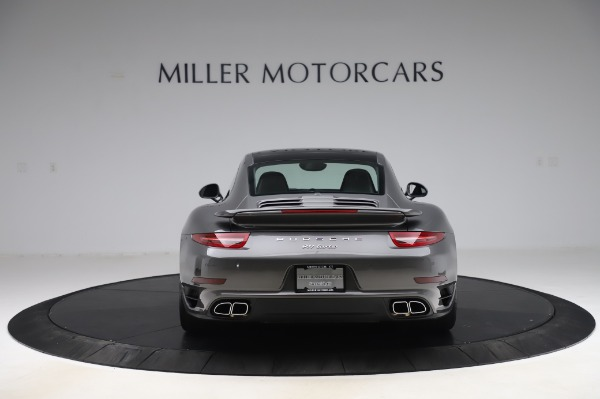 Used 2015 Porsche 911 Turbo for sale $123,900 at Bentley Greenwich in Greenwich CT 06830 6