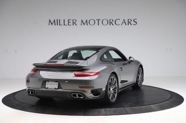 Used 2015 Porsche 911 Turbo for sale $123,900 at Bentley Greenwich in Greenwich CT 06830 7