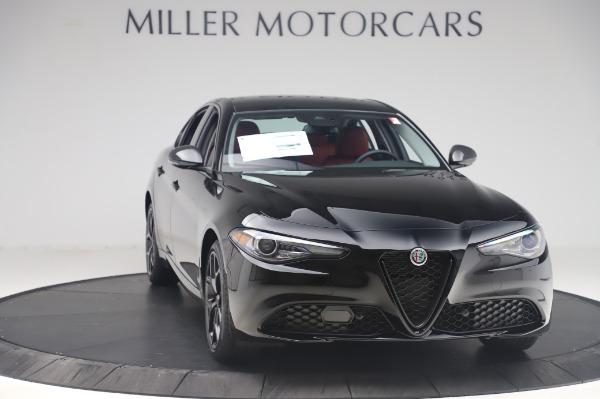 New 2020 Alfa Romeo Giulia Q4 for sale $48,445 at Bentley Greenwich in Greenwich CT 06830 11